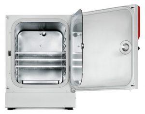 Tủ ấm CO2 BINDER CB150, điều khiển O2 và cửa kính chia ngăn