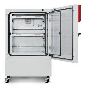 Tủ vi khí hậu Binder KBWF 240 với hệ thống chiếu sáng