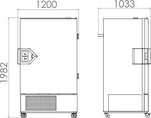 Tủ lạnh đông sâu Binder UF V 700