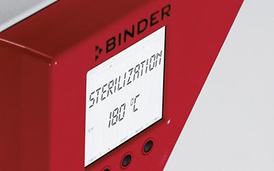 Tiệt trùng bằng khí nóng với Tủ ấm CO2 Binder